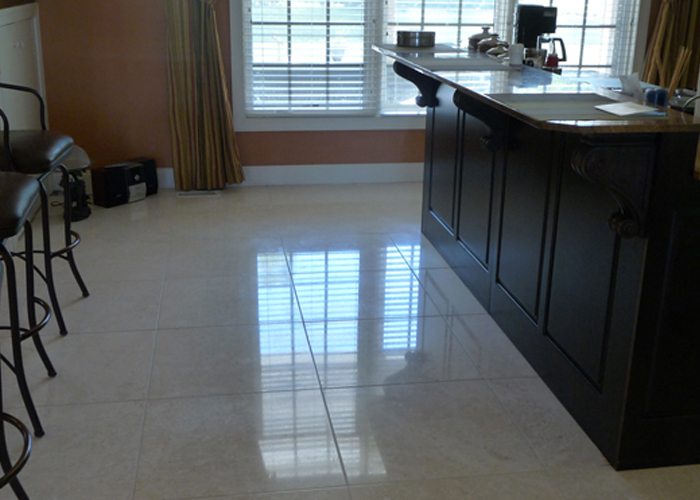 Marble Kitchen Floor Cleaning