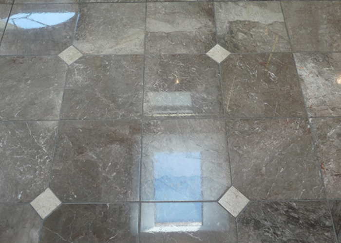 Skylight Marble Floor Cleaning