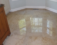 Travertine Floor Nook Cleaning