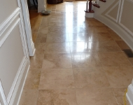 Travertine Staircase Cleaning
