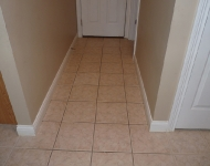 Backdoor Tile Floor Cleaning