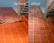 Saltillo Tile Floor Cleaning