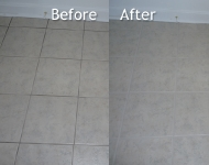 Dining Room Tile Floor Cleaning