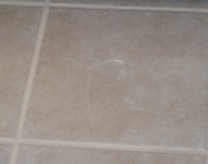Refrigerator Tile Floor Cleaning