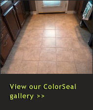 View Our Tile Cleaning, Grout Cleaning and ColorSeal Gallery