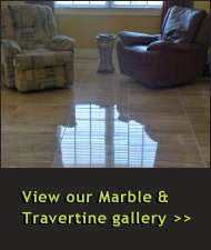 Marble Cleaning and Travertine Cleaning Photo Gallery