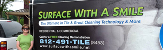 Surface With A Smile cleans carpet, marble, tile and more