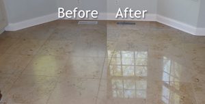 Marble & Travertine Before and After
